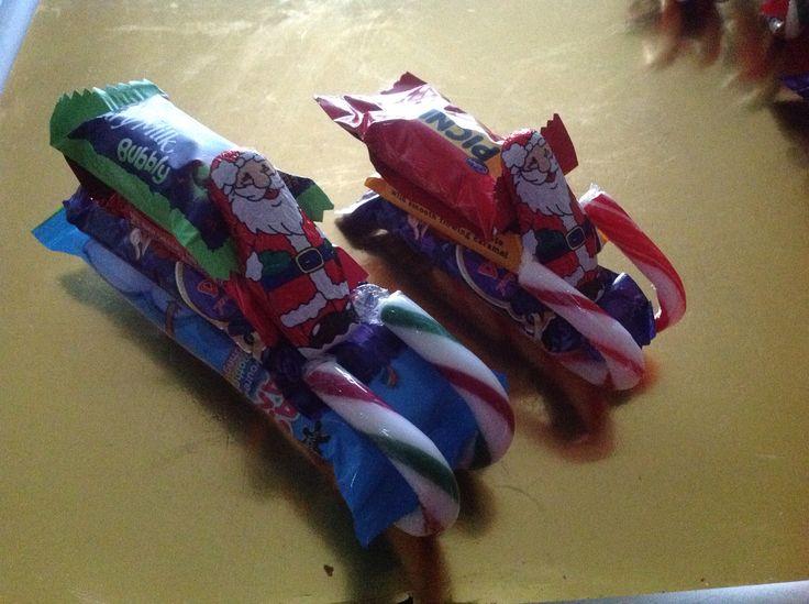Xmas Santa sleighs