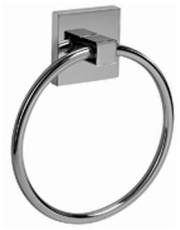 Graff G-9106-SN Contemporary Towel Ring, Steelnox