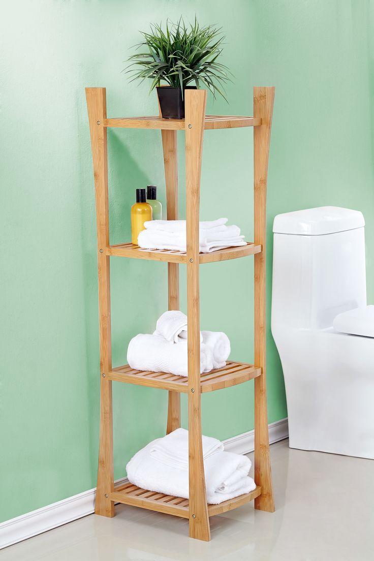 Popular Bamboo Bathroom Ladder Shelf  Wayfair