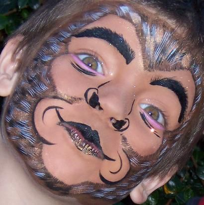 monkey face painting | Recent Photos The Commons Getty Collection Galleries World Map App ...
