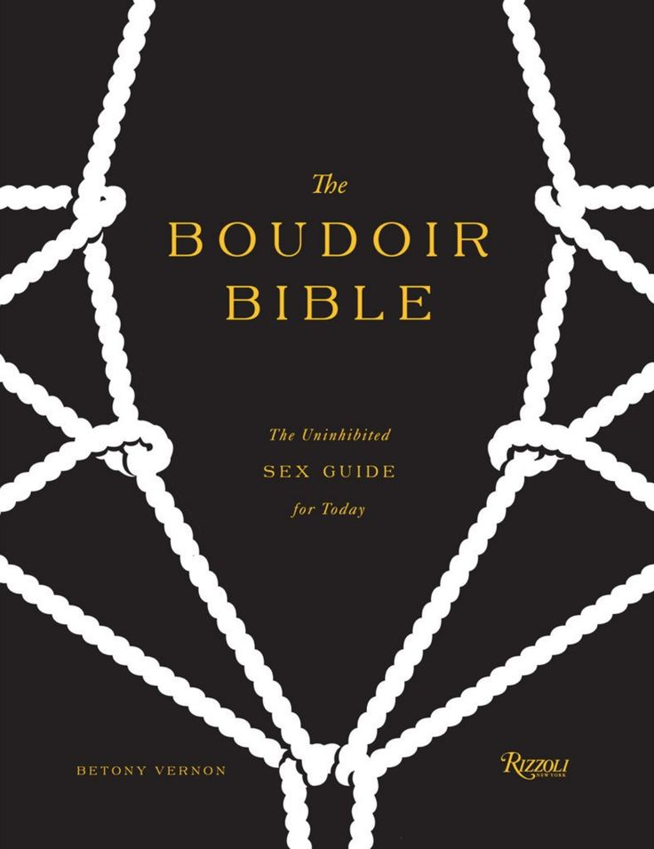 The Boudoir Bible by betony Vernon Adult Erotic book