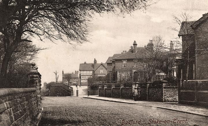 Basford Bank, Etruria Road, Basford, Stoke-on-Trent. 1905.