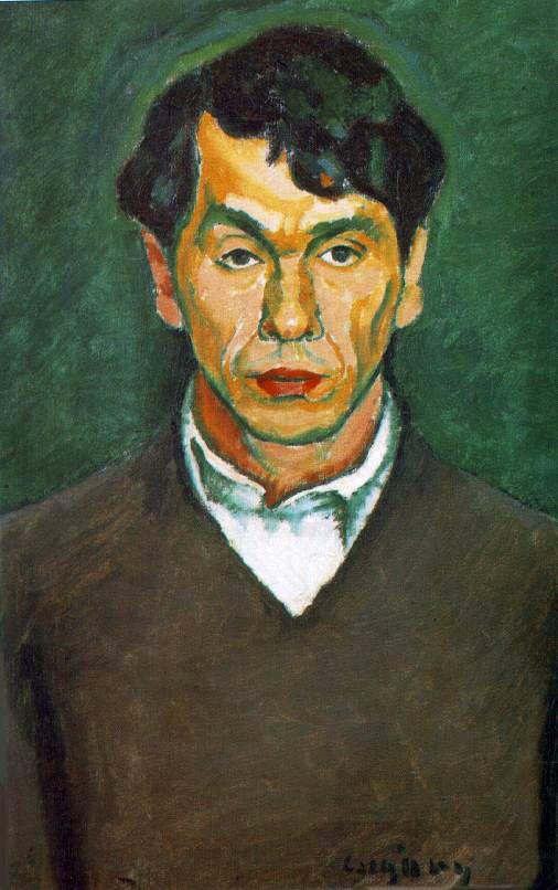 CZIGÁNY Dezső: Self portrait, 1909