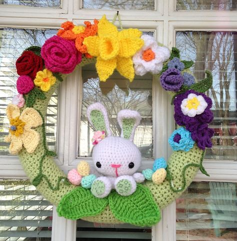 Ravelry: flappergirl425's Spring / Easter Wreath