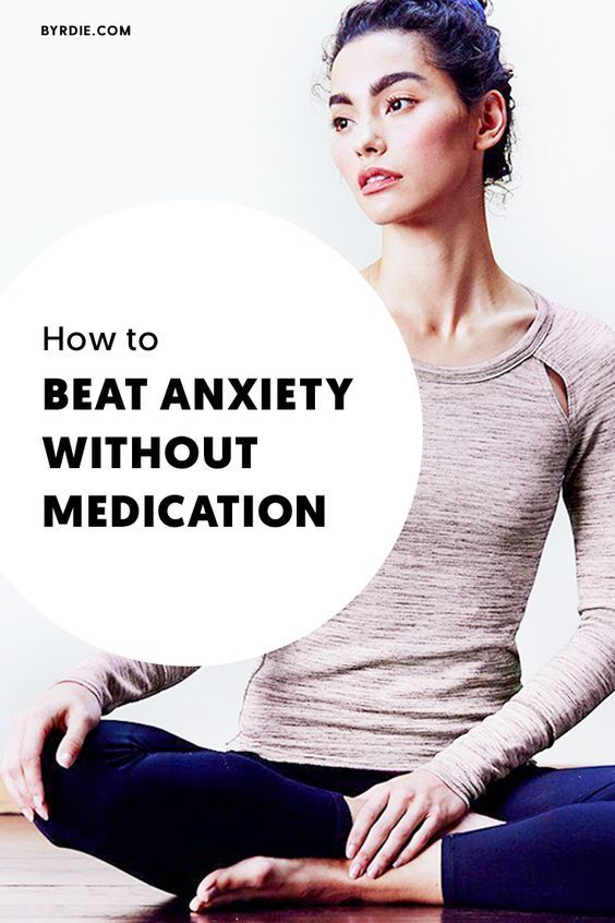 How to beat anxiety without medication