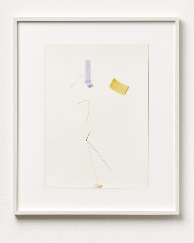 Henrik Eiben - JUMPING A HEAD - 2014 - Watercolour on paper; Framed 70 x 59 cm