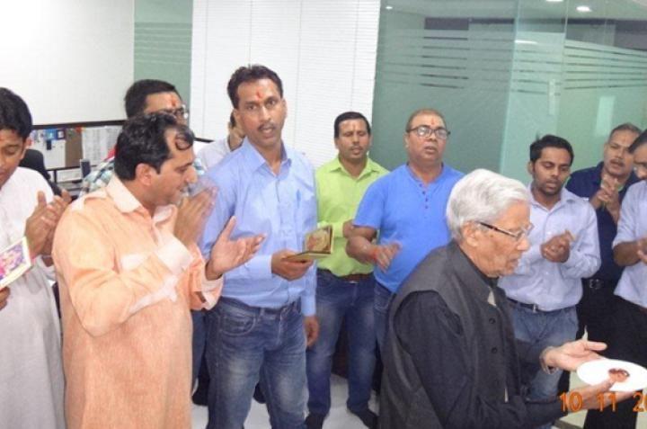 Celebrating Diwali -...
