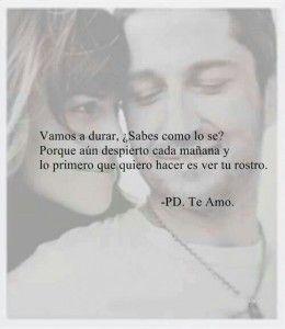 Las Frases Mas Romanticas de Peliculas PS Te amo