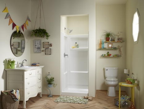 Superior Eclectic Small Bathrooms With Lots Of Space For Storage · Bathroom  StorageSmall BathroomsStorage Ideas