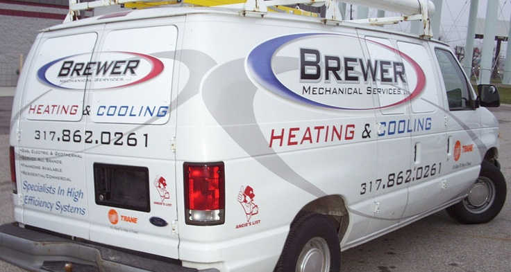 Brewer Mechanical Services Heating Amp Cooling Hvac Van