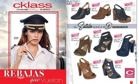 En el nuevo Catálogo Cklass REBAJAS que VUELAN 2017 (Con Precios) verán ofertas de ropa, calzado y bolsos. #RebajasQueVuelan #Cklass