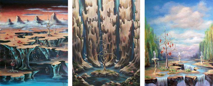 Руническая живопись - Картины МАГИЯ РУН. Trish: Пробуждение к танцу - Коллекция неслучайных вещей Проекта МЕТАМОРФОЗЫ