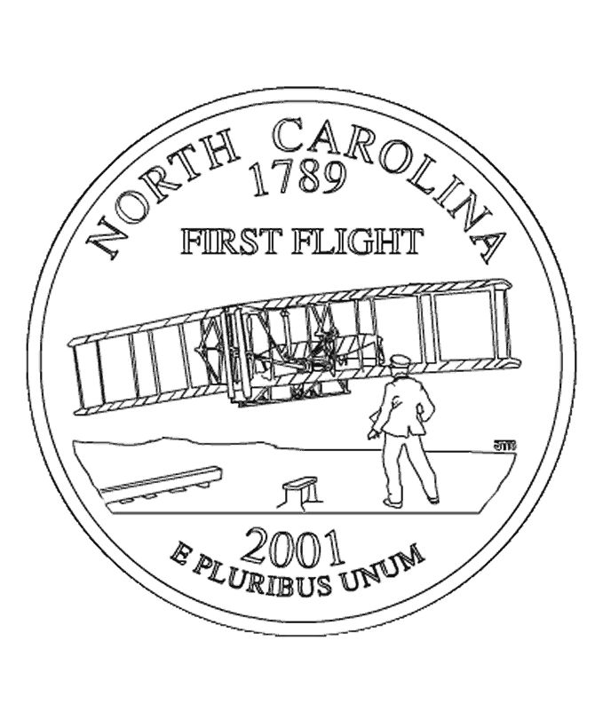 nc state seal coloring pages - photo#30