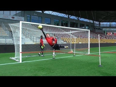 Goalkeeper Training Super Liga Dinamarca Voetbaltraining Keeper