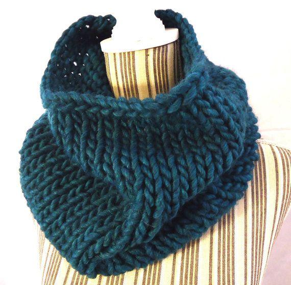 SCIARPA lana grossa / ADELE / marshmallow maglia di AloneMavi