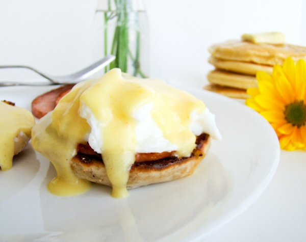 breakfast & recipes:  eggs benedict...and homemade english muffins.Hollandaise Sauce, Breakfast Recipe