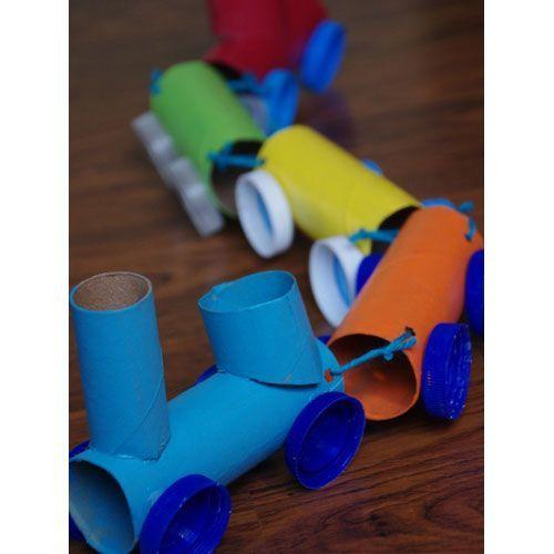 Καλοκαιρινές Ιδέες! Παιχνίδια-κατασκευές από χαρτί υγείας!