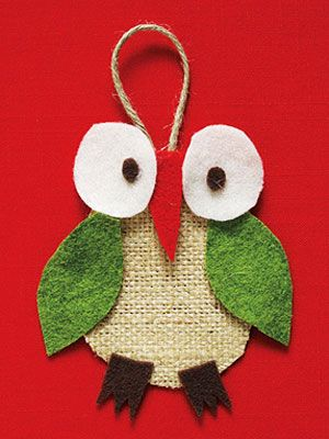 DIY Owl Ornament