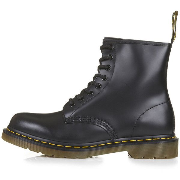 Dr. Martens Originals 1460 Boots (175 AUD) ❤ liked on Polyvore featuring shoes, boots, -- shoes, sapatos, black, real leather shoes, dr martens shoes, leather boots, dr martens footwear and leather shoes