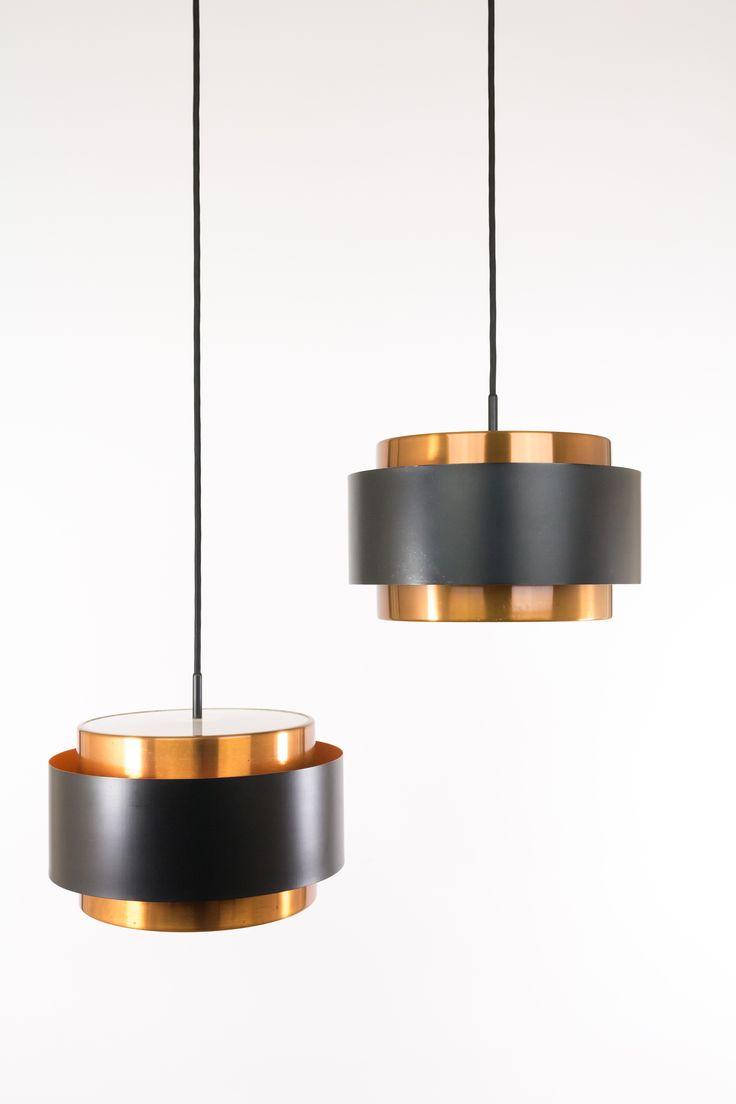 Saturn pendant designed by Danish designer Jo Hammerborg and manufactured by Fog & Mørup.