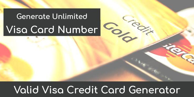 Credit card generator with cvv kali linux expert visa