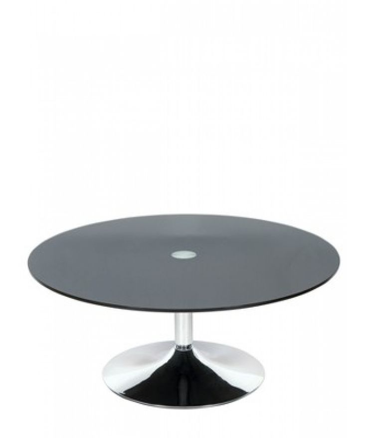Roma Round #coffeetable In Chrome And Glass Will Certainly Add A  Contemporary #style At