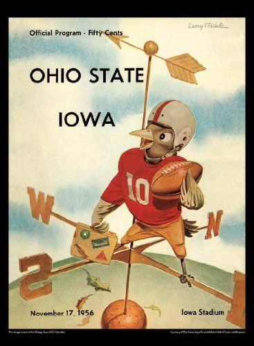Iowa Hawkeyes 2013 Vintage Football Calendar