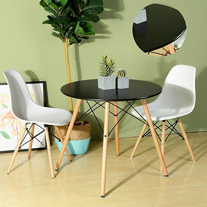 Under 100 Space Saving Design Large Eating Space With A Round Shape That Allows You To With Images Round Coffee Table Modern Home Decor Furniture Dining Table In Kitchen