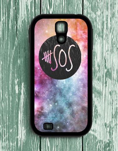 5 Second Of Summer Logo Galaxy Samsung Galaxy S4 | Samsung S4 Case