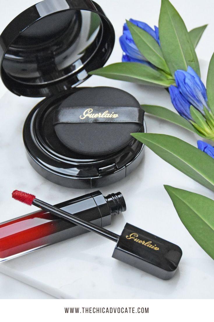 Neu gibt es auch von Guerlain die Intense Liquid Matte Lippenstifte und das Lingerie de Peau Cushion Make-up. Ich habe die beiden Produkte ausprobiert.