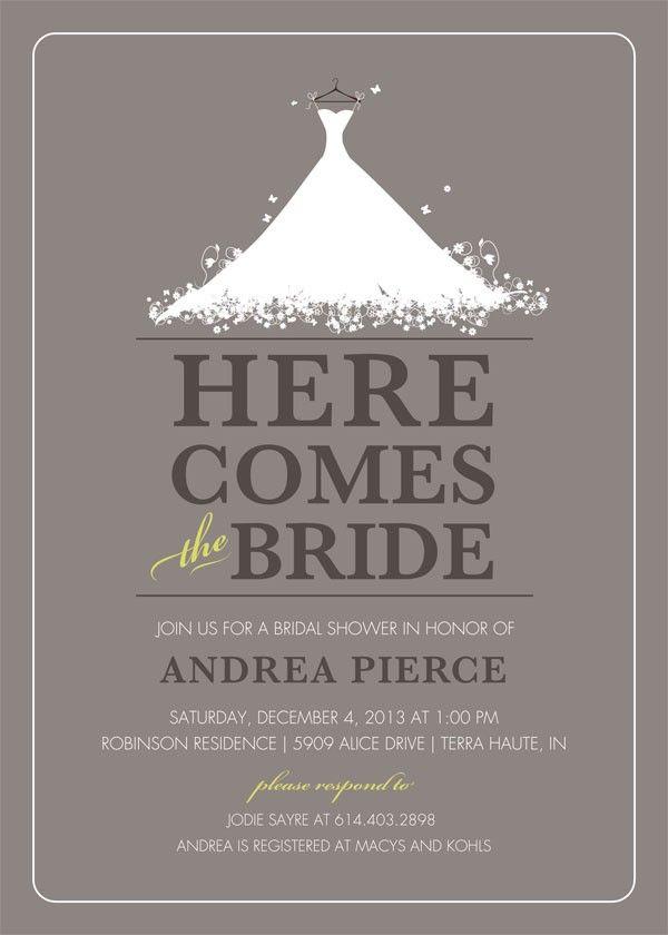 bridal shower invite 208 best Wedding