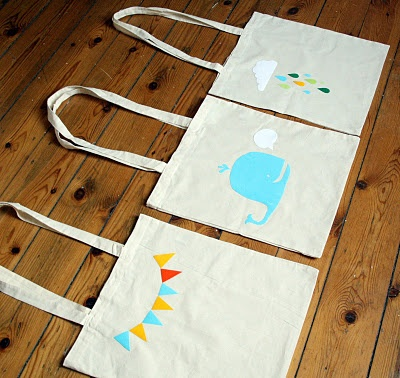 flock flock tote bag cotton
