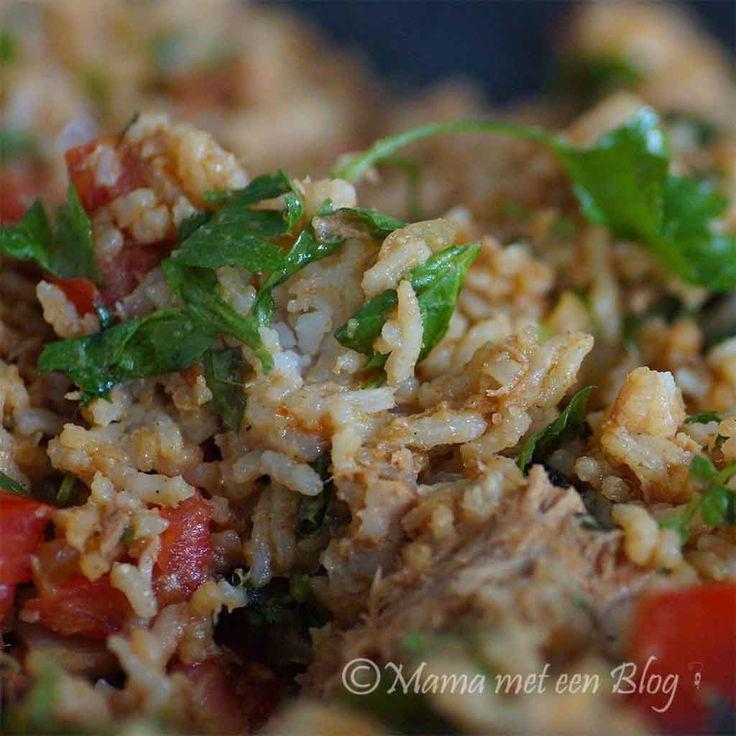 Recept: Rijstsalade, van overgebleven rijst