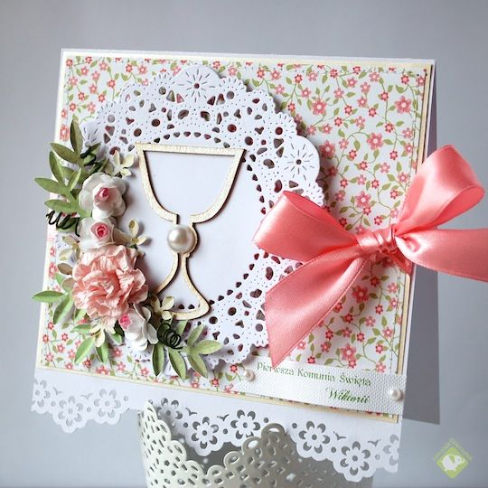 First Communion card - Scrapbook.com