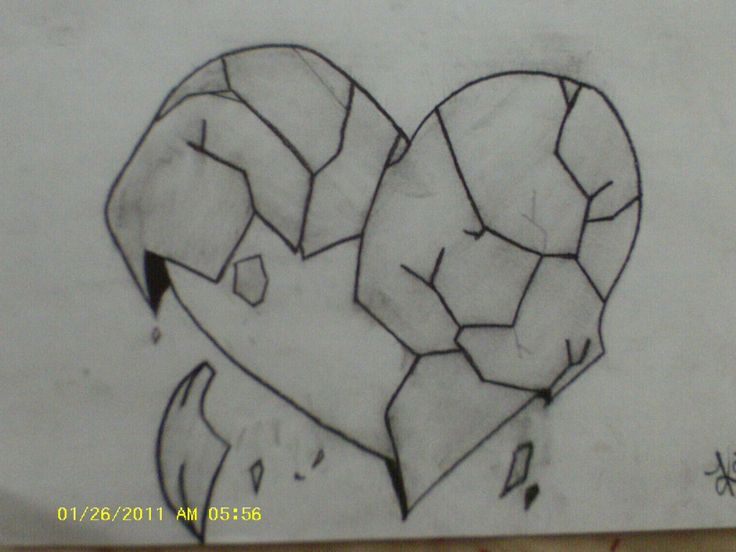how to draw a beautiful heart