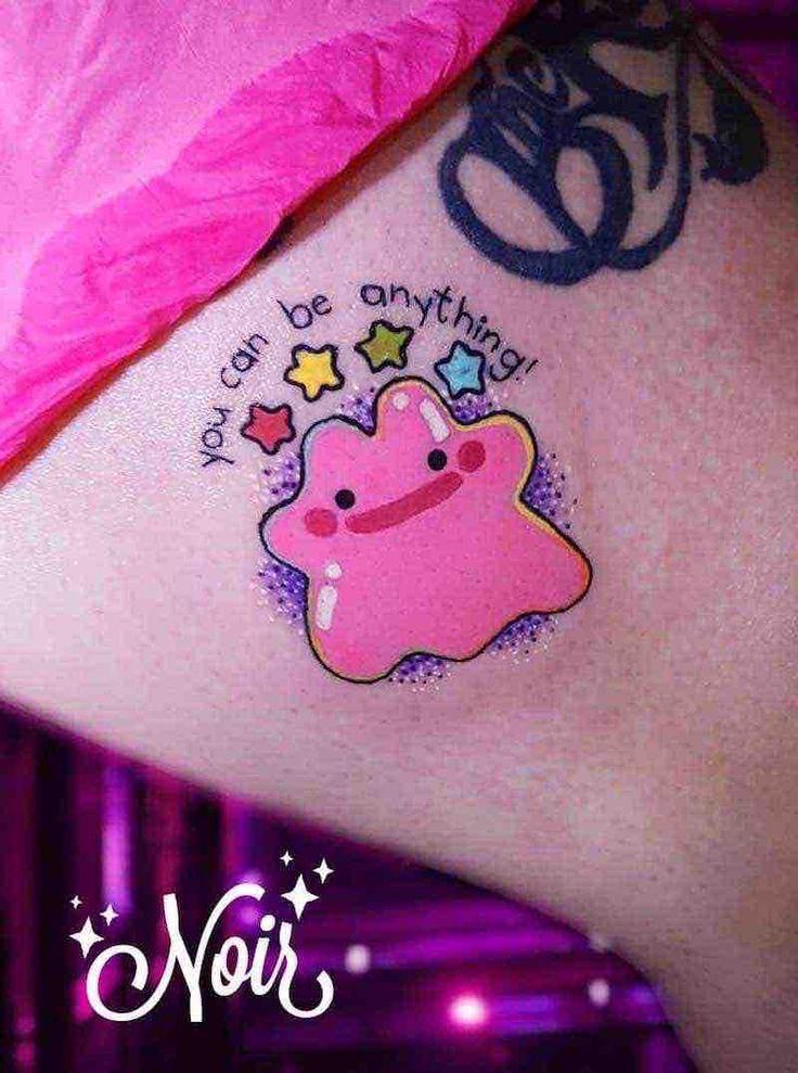63 Amazing Pokémon Tattoos - Tattoo Insider - Pokemon Tattoo by Dahlia Noir - Nerdy Tattoos, Cartoon Tattoos, Anime Tattoos, Kawaii Tattoos, Pretty Tattoos, Love Tattoos, Body Art Tattoos, Small Tattoos, Tatoos