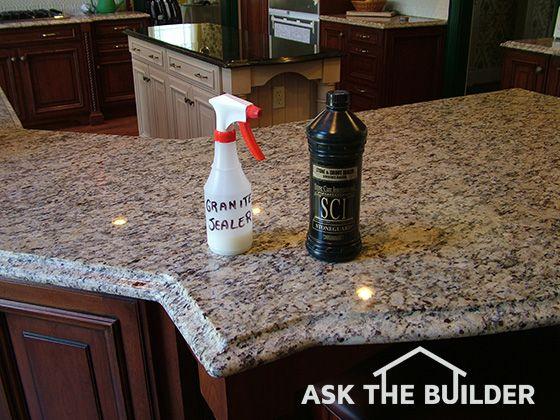 How to Granite Sealer | Ask the Builder