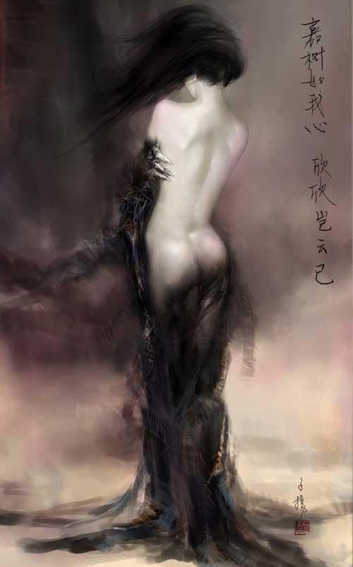 The Fine Art Nude, the-mad-curator: Weng Ziyang