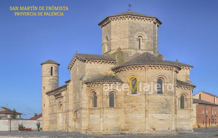 Camino de Santiago, iglesia de San Martín de Frómista, Palencia