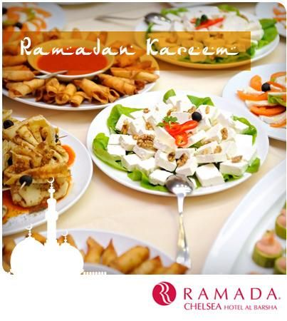 The perfect #Iftar buffet with traditional Arabic and Indian dishes awaits you. Join us this #Ramadan with your family and friends to pray (separate areas for men and women) and break your fast here at the Ramada Chelsea, Al Barsha.