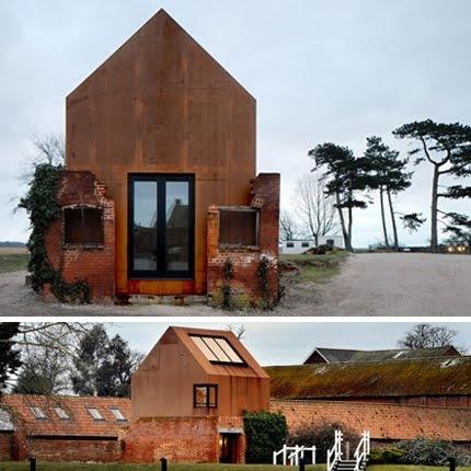 Corten & Brick #Architecture