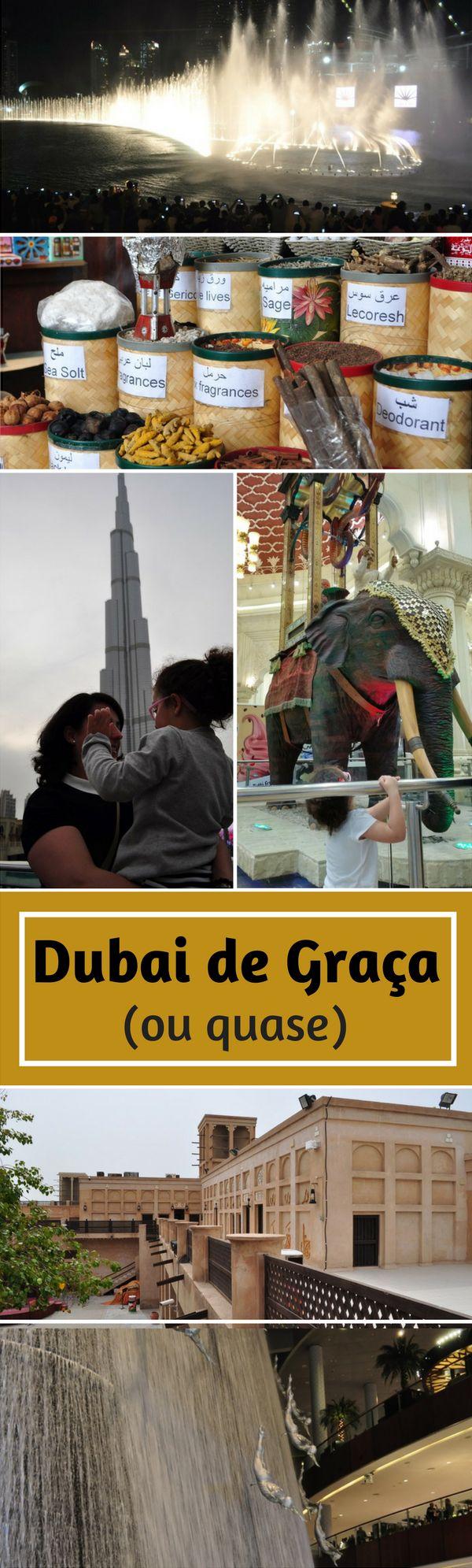 Quer aproveitar sua viagem para Dubai de graça (ou quase). Nós listamos as atrações que irão ajudar a economizar em seu roteiro.
