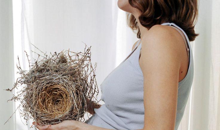 Todo lo que necesitas saber sobre el Síndrome del Nido durante el #embarazo, ese instinto que nos empuja a tener todo preparado para la llegada del bebé