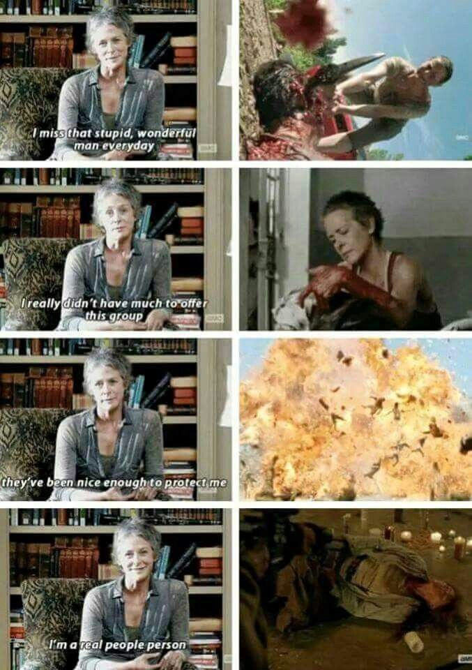 "The Walking Dead 5x12 ""Remember"" Carol"