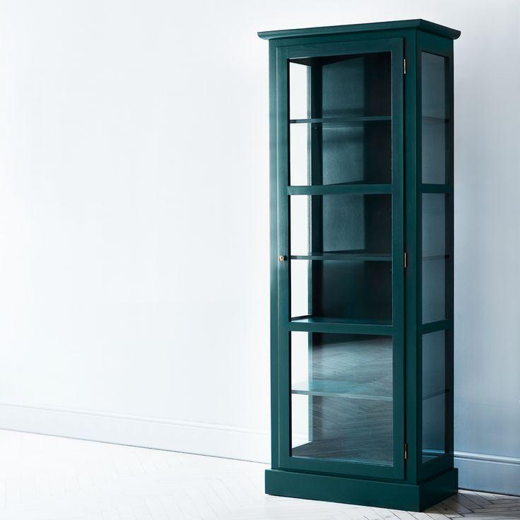 Zeitloser Hingucker: Glasvitrine von Lindebjerg Design