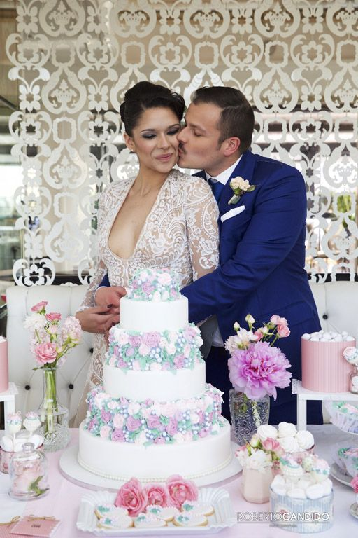 Un matrimonio vintage stile La Dolce Vita dedicato a tutti gli amanti della città eterna.