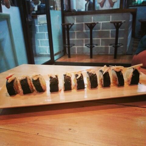 long and big size sushi