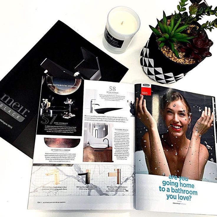 The team here at Meir are very excited to be featured in the current issue of House and Garden magazine which is on shelves right now!  #Meir #Meirblack #Meiraustralia #Blacktapware #Matteblacktapware #homeinspo #interiorlovers #interiorinspirations #bathroominspo #bathroomreno #architecturelover #renovationideas #australianhouseandgarden #onsalenow