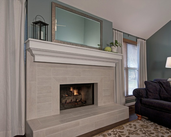 Decorating Ideas > 1000+ Images About Fireplace On Pinterest  Fireplace  ~ 043152_Fireplace Tile Decorating Ideas