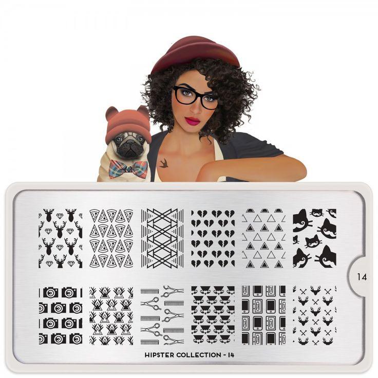 Hipster Nail Art Design 13